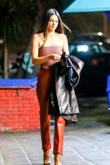 Kendall Jenner Street Fashion - Los Angeles 04/15/2021