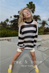 Kiernan Shipka - Rag & Bone Sunglasses 2021 Campaign