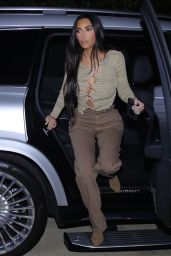 Kim Kardashian - La Scala in Beverly Hills 04/06/2021