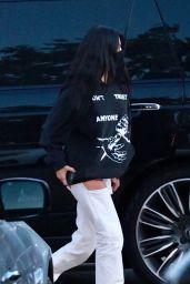 Kourtney Kardashian at Nobu in Malibu 04/19/2021
