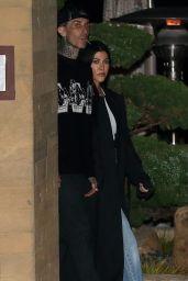 Kourtney Kardashian - Nobu in Malibu 04/07/2021