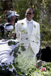 """Kristen Bell and Michael Ealy Get Married on """"The Woman In The House"""" Set 04/15/2021"""