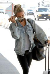Kristin Cavallari in Travel Outfit - LAX in LA 03/31/2021