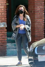 Kristin Davis - Running Errands in Los Angeles 04/05/2021