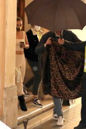 """Lady Gaga - """"House of Gucci"""" Filming Set in Rome 04/22/2021"""