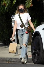 LeAnn Rimes in Ripped Denim - Beverly Hills 04/20/2021