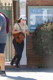 Leighton Meester - Out in Santa Monica 04/28/2021