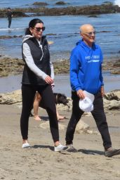 Liberty Ross and Jimmy Lovine in Malibu 04/25/2021