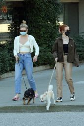 Lili Reinhart and Madelaine Petsch - Vancouver 04/21/2021