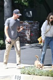 Lily Collins and Charlie McDowell - Los Angeles 04/10/2021