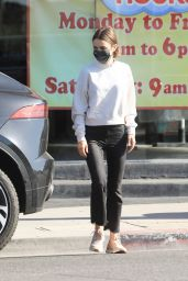 Lily Collins - Out  in Los Angeles 04/09/2021