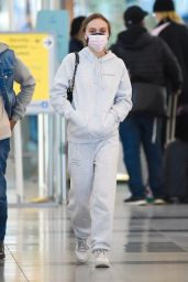 Lily Rose-Depp at JFK Airport in NYC 04/26/2021