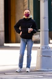 Lily-Rose Depp in Casual Outfit - New York City 04/05/2021