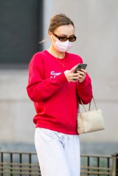 Lily-Rose Depp - Out in New York City 04/05/2021