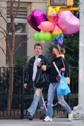 Lily Rose Depp - Out on Easter morning in NYC 04/04/2021