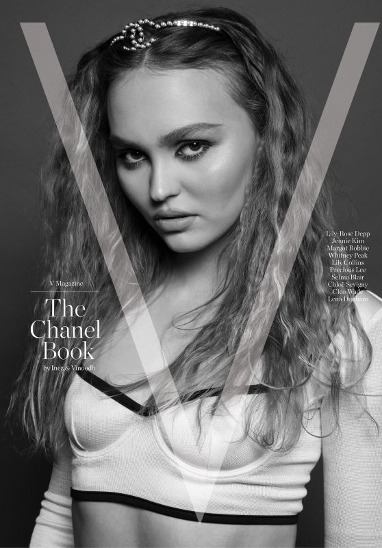 Lily-Rose Depp - V Magazine The Chanel Book 2021