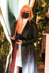 Lindsey Vonn Night Out in Santa Monica 04/04/2021