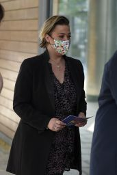 Lisa Armstrong at Stephs Packed Lunch in Leeds 04/19/2021