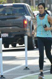 Lisa Ling - Out in Santa Monica 04/27/2021