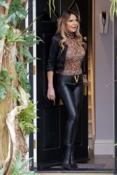 Lizzie Cundy at the R.H Salon in Knightsbridge 04/13/2021