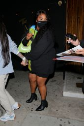 Lizzo, Kehlani and SZA at The Nice Guy in Los Angeles 04/21/2021