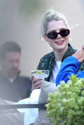 Lucy Boynton - Out in Zagreb 04/22/2021