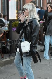 Lucy Fallon - Out in Blackpool 04/18/2021