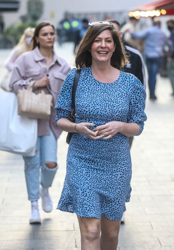 Lucy Horobin - Out in London 04/20/2021