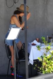 Maggie Q - Having Lunch in West Hollywood 04/02/2021