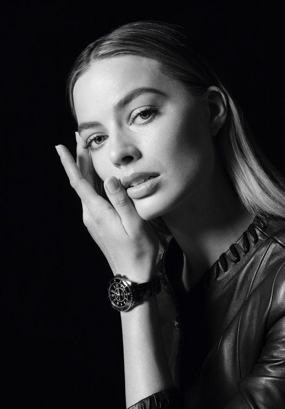 Margot Robbie - Chanel´s J12 Campaign 2021