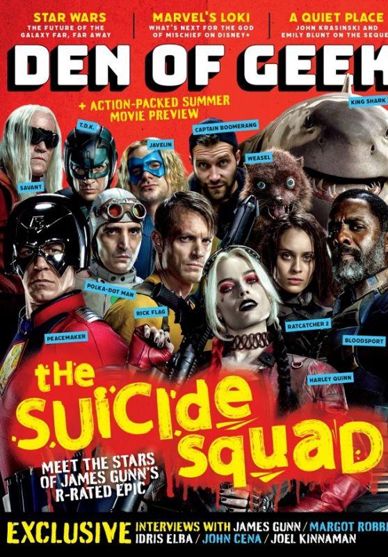 Margot Robbie - Den of Geek Magazine May 2021