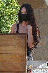 Megan Fox at Delilah's in Malibu 04/18/2021