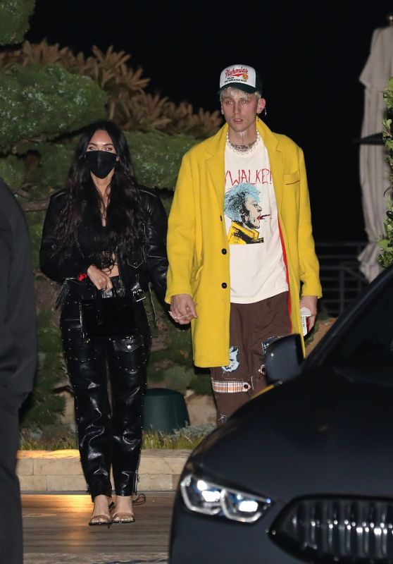 Megan Fox at Nobu Malibu 04/22/2021