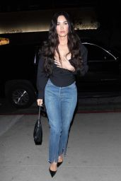 Megan Fox Night Out Style - West Hollywood 04/17/2021