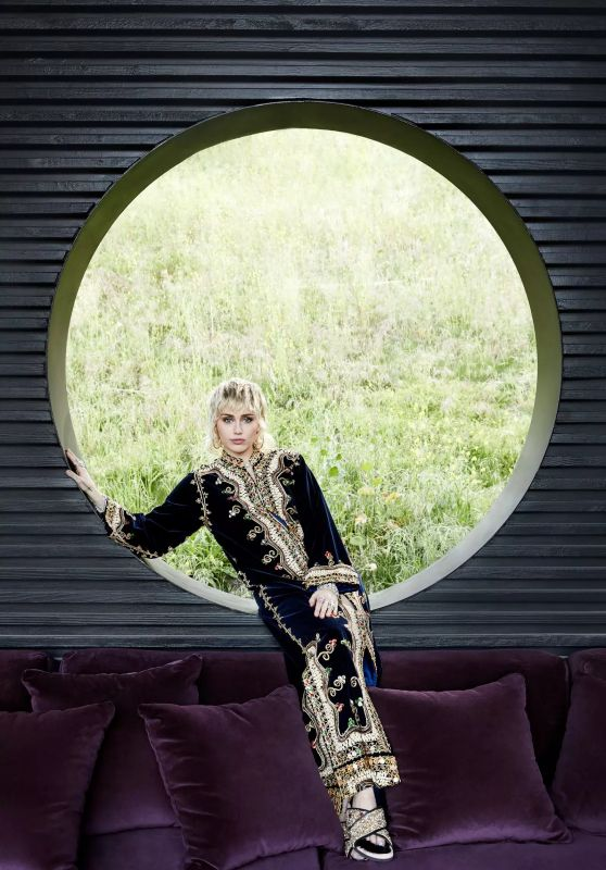 Miley Cyrus - Architectural Digest May 2021