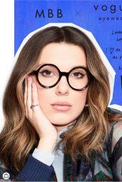 Millie Bobby Brown - Vogue Eyewear March 2021 (more photos)