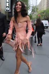 MJ Rodriguez - Arrives at FX Event in NY 04/29/2021