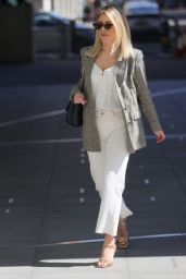 Mollie King - Outside the BBC Radio Studios in London 04/18/2021