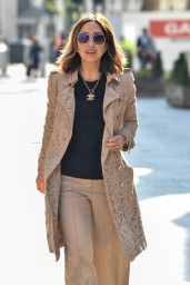 Myleene Klass - Arriving at the Global Studios in London 04/14/2021