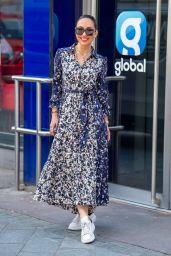 Myleene Klass - Arriving at the Global Studios in London 04/29/2021