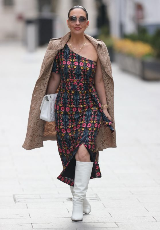 Myleene Klass in Split Dress 04/05/2021