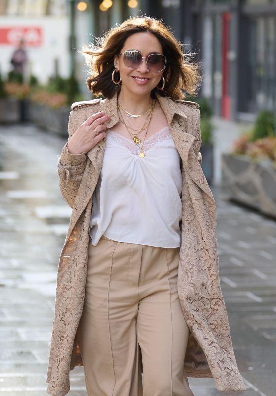Myleene Klass - Out in London 04/09/2021