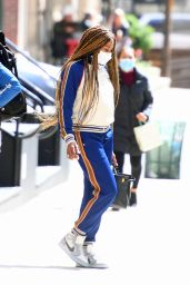 Naomi Campbell in Comfy Outfit - New York City 04/22/2021