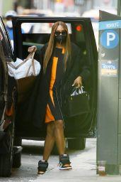 Naomi Campbell Street Style - NYC 04/07/2021