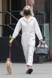 Naomi Watts in a Jumpsuit - New York 04/18/2021