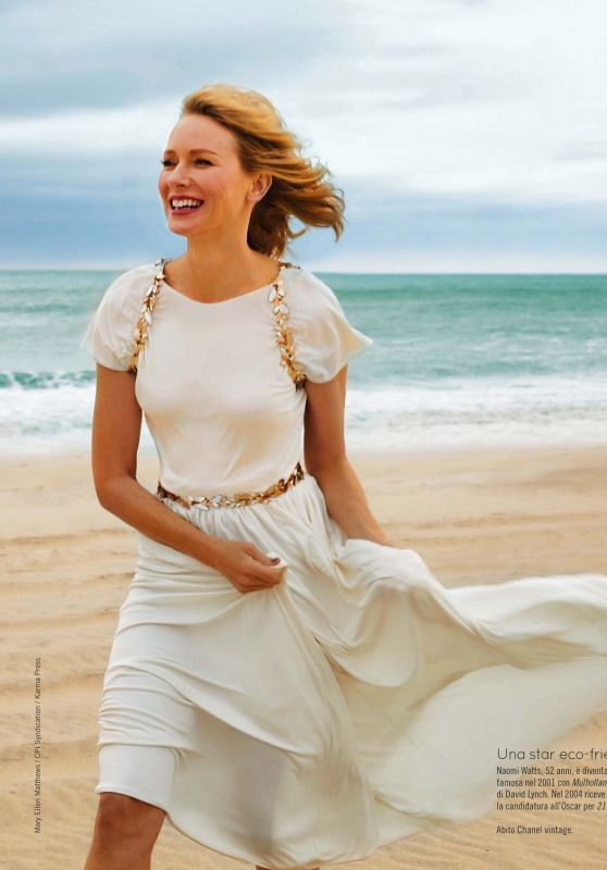 Naomi Watts - Natural Style April 2021 Issue