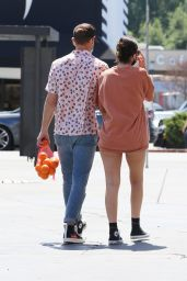 Natalie Joy in Casual Outfit - Los Angeles 04/04/2021
