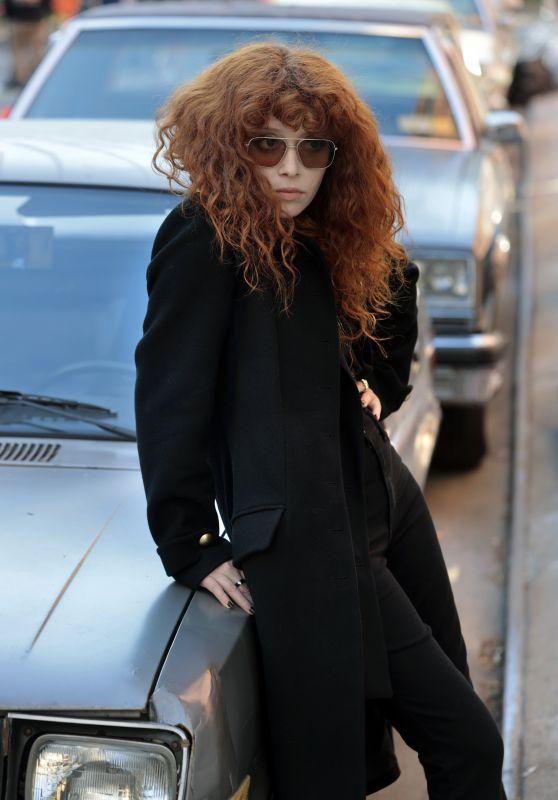 "Natasha Lyonne - Filming ""Russian Doll"" in NYC 04/13/2021"