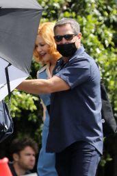 """Nicole Kidman - """"Being the Ricardos"""" Filming Set in Los Angeles 04/27/20217"""