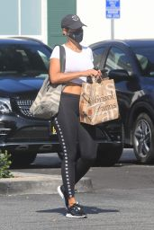 Nicole Murphy at Bristol Farms in West Hollywood 04/08/2021